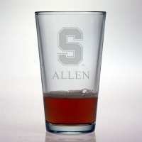 Stanford University Cardinal Pint Glass