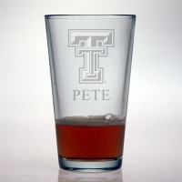 Texas Tech University Red Raiders Pint Glass