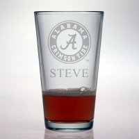 University of Alabama Crimson Tide Pint Glass