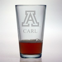 University of Arizona Wildcats Pint Glass