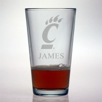 University of Cincinnati Bearcats Pint Glass