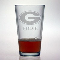 University of Georgia Bulldogs Pint Glass