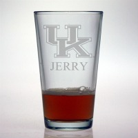 University of Kentucky Wildcats Pint Glass