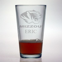 University of Missouri Mizzou Tigers Pint Glass