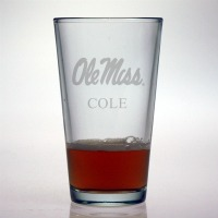 Ole Miss - University of Mississippi Rebels Pint Glass