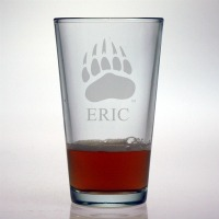 University of Montana Grizzlies Pint Glass