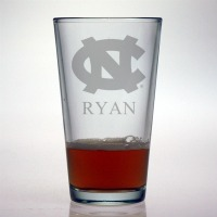 University of North Carolina Tar Heels Pint Glass