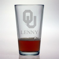 University of Oklahoma Sooners Pint Glass