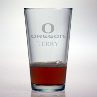 University of Oregon Ducks Pint Glass