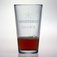 Vanderbilt University Commodores Pint Glass