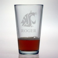 Washington State Cougars Pint Glass