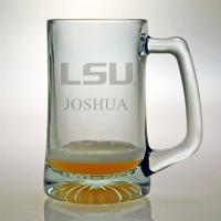 LSU – Louisiana State University Tigers Pint Glass