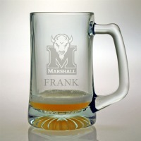 Marshall University Herd Tankard Mug