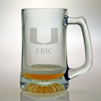 University of Miami Hurricanes Tankard Mug