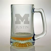 University of Michigan Wolverines Tankard Mug