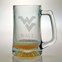 West Virginia University Mountaineers Tankard Mug