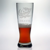 Temple University Owls Grand Pilsner Glass