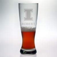 University of Illinois Fighting Illini Grand Pilsner Glass