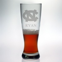 University of North Carolina Tar Heels Grand Pilsner Glass