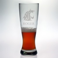 Washington State Cougars Grand Pilsner Glass