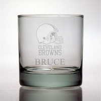 Cleveland Browns Rocks Glass