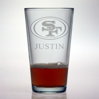 San Francisco 49ers Pint Glass