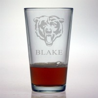 Chicago Bears Pint Glass