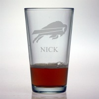 Buffalo Bills Pint Glass
