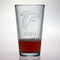 Atlanta Falcons Pint Glass