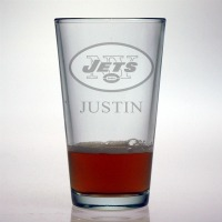 New York Jets Pint Glass