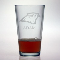 Carolina Panthers Pint Glass