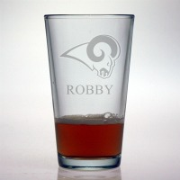 St. Louis Rams Pint Glass
