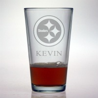 Pittsburgh Steelers Pint Glass