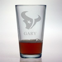 Houston Texans Pint Glass