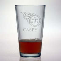Tennessee Titans Pint Glass