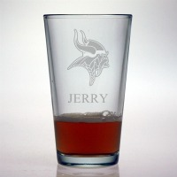 Minnesota Vikings Pint Glass