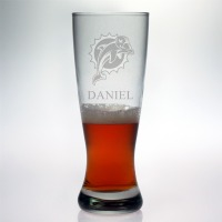 Miami Dolphins Grand Pilsner Glass