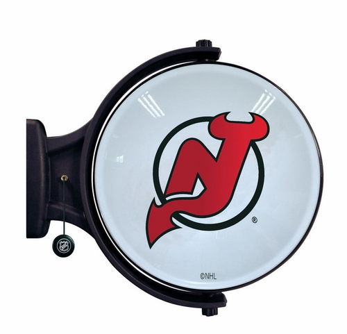New Jersey Devils Revolving Wall Light