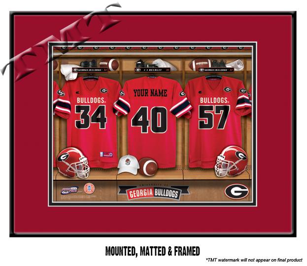 Georgia Bulldogs Sign
