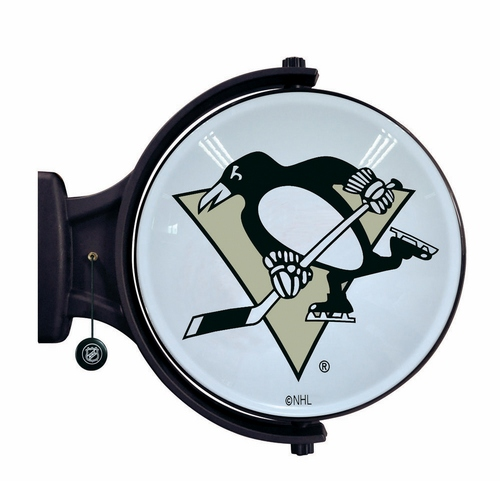 Pittsburgh Penguins Revolving Wall Light