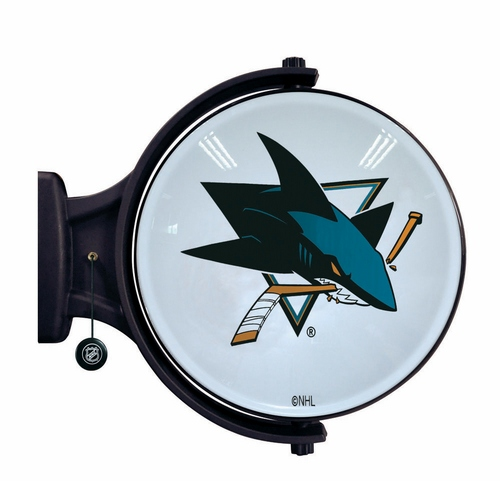 San Jose Sharks Revolving Wall Light