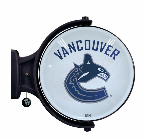 Vancouver Canucks Revolving Wall Light